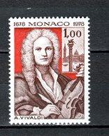 MONACO N° 1133  NEUF SANS CHARNIERE COTE 1.30€   VIVALDI COMPOSITEUR - Monaco