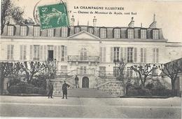 CPA Champagne AY Château De Monsieur Ayala Côté Sud - Ay En Champagne