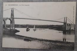 LEZARDRIEUX  Le Pont Suspendu - Autres Communes