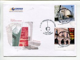ARQUITECTURA NACIONAL, MUSEOS MALBA MAAM MUSEUM ARCHITECTURE . ARGENTINA 2007, SOBRE PRIMER DIA, ENVELOPE FDC -LILHU - Argentine