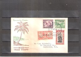 Souvenir Cover From Niue - Peace Stamps - Complete Set (to See) - Niue