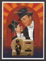 2000 Ghana  Radio Bergen Puppet  Souvenir Sheet Complete Set Of 1 MNH - Ghana (1957-...)