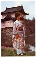 ADVERTISING : QUANTAS - JAPANESE DRESS, IMPERIAL PALACE, TOKYO - Advertising