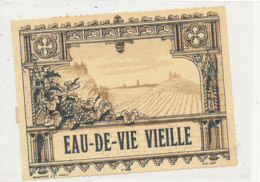 AN 442 / ETIQUETTE   EAU DE VIE DE CIDRE  VIEILLE - Etichette