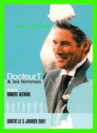 """AFFICHE DE FILM - """" DOCTEUR T & LES FEMMES """" - FILM DE ROBERT ALTMAN EN 2000 AVEC RICHARD GERE, HELEN HUNT - - Affiches Sur Carte"""