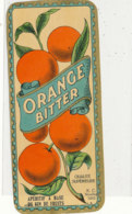 AN 452 / ETIQUETTE      ORANGE BITTER - Frutta E Verdura