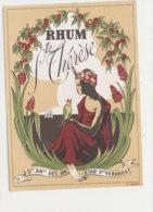 AN 483 / ETIQUETTE  RHUM STE THERESE - Rhum