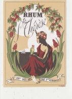 AN 484 / ETIQUETTE  RHUM STE THERESE - Rhum