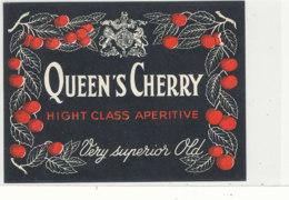 AN 490 / ETIQUETTE    QUEEN'S CHERRY - Unclassified