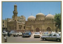 IRAQ BAGHDAD The Jami Mirjan Shine Mosque, Car,  -   Old Postcard - Iraq