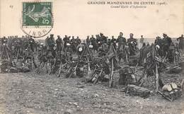 Alentours D'Ecuillé Et Valençay 36  Grandes Manœuvres Du Centre 1908  Halte D'Infanterie  (voir Scan) - Frankreich