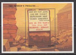 1995 Ghana  WWII Hitler  Souvenir Sheet MNH - Ghana (1957-...)