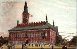 Denmarl Copenhagen Raadhuset Town Hall 1910 - Denmark