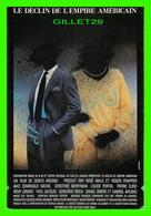 """AFFICHE DE FILM - """" LE DÉCLIN DE L'EMPIRE AMÉRICAIN """" - FILM DE DENYS ARCAND EN 1986 - PIERRE CURZI, RÉMI GIRARD - - Affiches Sur Carte"""