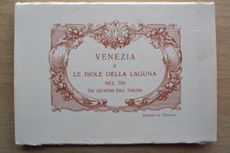 ITALIA VENETO VENEZIA LIBRETTO DI CARTOLINE RICORDO LE ISOLE DELLA LAGUNA - Venezia