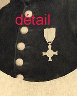 CDV Italie--soldat Médaillé- Photo Luigi De Dominicis à Corneto - Guerre, Militaire