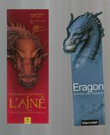 2 Marque Page  Eragon, Dragon - Bookmarks