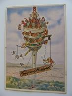 1963  Fernsehturm Stuttgart Restaurant  GERMANY     GERMANIA   USED  CARD   VIAGGIATA  COME DA FOTO - Stuttgart
