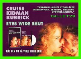 """AFFICHE DE FILM - """" EYES WIDE SHUT """"  - Stanley Kubrick, Sorti En 1999.- AVEC TOM CRUISE ET NICOLE KIDMAN - - Affiches Sur Carte"""