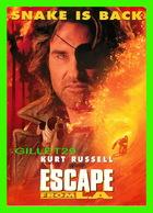 """AFFICHE DE FILM - """" ESCAPE FROM L.A. """" - KURT RUSSELL, JOHN CARPENTER'S - MAX RACKS - - Affiches Sur Carte"""