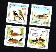2004- Tunisia- Tunisie- Birds Of Tunisia- Oiseaux De Tunisie- Complete Set 4v.MNH** - Other