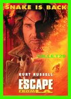"AFFICHE DE FILM - "" ESCAPE FROM L.A. "" - KURT RUSSELL, JOHN CARPENTER'S - MAX RACKS - OCUMARE RUM, 1996 - - Affiches Sur Carte"