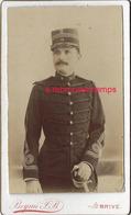 CDV Officier Du 14e R-photo Beynié à Brive - Guerre, Militaire