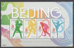 Jeux Olympiques -Olympic Games Beijing 2008 - Tuvalu