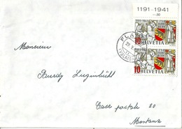 Brief  Flanthey (Valais) - Montana             1942 - Covers & Documents