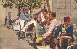 Turquia,123. A Turkish Barber Shop Constantinople. - Turquie