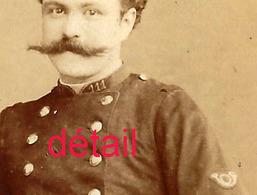 CDV Officier Du 111e R-photo Emile Pricam  à Genève-Suisse - Guerre, Militaire