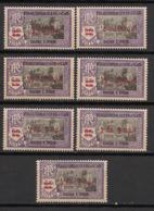 Inde - 1942 - N°Yv. 191 à 197 - Série Complète - Neuf Luxe ** / MNH / Postfrisch - Neufs
