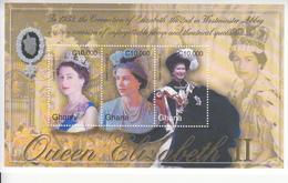 2003 Ghana  QEII Coronation Anniversary  Complete Set Of 2 Sheets MNH - Ghana (1957-...)