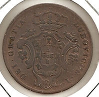 ACORES AZORES  10 REIS  REIS 1865 RARE 38 - Azores