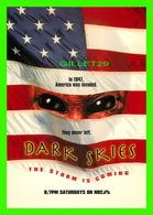 """AFFICHES DE FILM  """"DARK SKIES """" Scott Charles Stewart, Sorti En 2013 - - Affiches Sur Carte"""