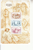 1999 Ghana  Goethe German Poet  Complete Set Of 2 Sheets MNH - Ghana (1957-...)