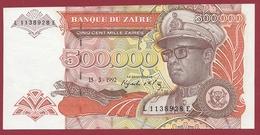 Zaïre -500000 Zaïres Du 15/03/1992 --UNC (NEUF) - Zaïre