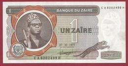Zaïre -1 Zaïre Du 27/10/1977 --dans L 'état - Zaire
