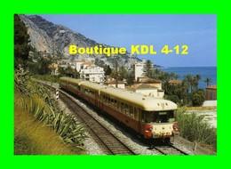 ART 099 - Autorail Caravelle X 4500 Vers EZE - Alpes Maritimes - SNCF - Eze