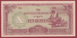 Japon 10 Yen 1944 (Occupation Japonaise) - Giappone