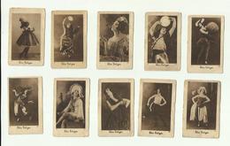 """""  10 X  Chromo /Trading Card ----  **  ELSA  KRÜGER Zigarette  **--Série : I - Other Brands"