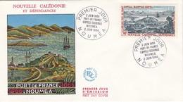 FDC PREMIER JOUR PA86 Centenaire Appellation Nouméa 02-06-1966  Nouvelle-Calédonie - FDC