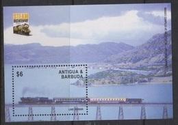 2004Antigua & Barbuda4140/B600Trains - Treni