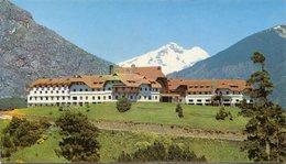 BARILOCHE - HOTEL LLAO-LLAO Y CERRO CATEDRAL. ARGENTINA TARJETA POSTAL CIRCULADO 1980 -LILHU - Argentina