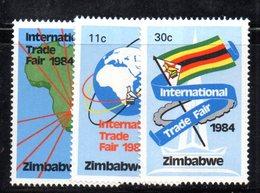 APR375 - ZIMBABWE 1984 , Serie Yvert N. 60/62  ***  MNH  (2380A) - Zimbabwe (1980-...)