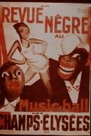 Photo Diapo Diapositive Slide FRANCE Entre 2 Guerres N°4 Paul Colin La Revue Nègre Music-Hall Affiche En 1925 VOIR ZOOM - Diapositives (slides)