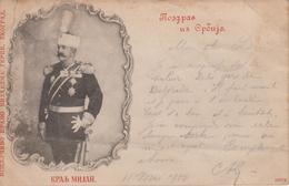 CPA Précurseur Milan 1er Roi Des Serbes - Serbien