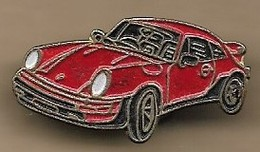 Pin's Porsche 911 Carrera Rouge - Porsche