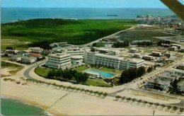 Mozambique Beira Aerial View Of The Beach And Grand Hotel - Mozambique