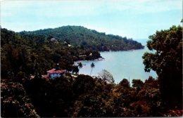 Malaysia Penang North Coast View Of Winding Road Along Tanjong Bungah Bay - Malaysia